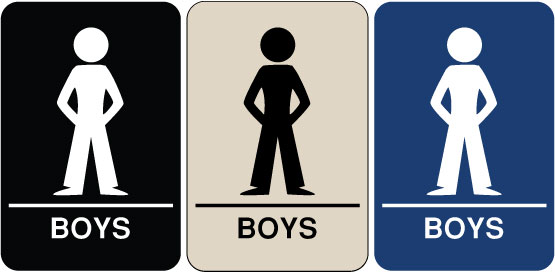 Need A Braille ADA Signs We Have Boy 39 S Restroom Signs