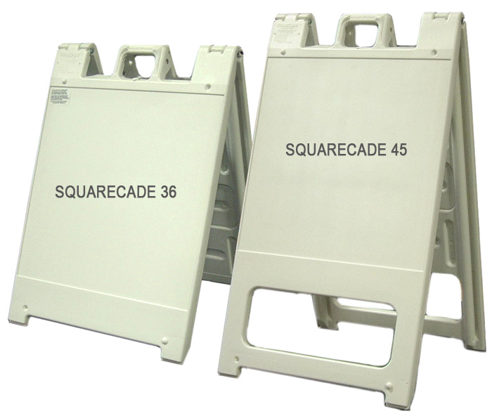 The Squarecade A Frame Sign Stand By Plasticade A Division Of American Louver