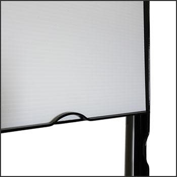 Tall Angle Iron Real Estate Sign Frames